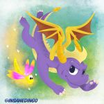 Spyro the Dragon by TheInsaneDingo