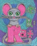 Year of the Rat - Color by Joygon