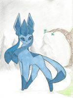 Glaceon by bluestarproduction