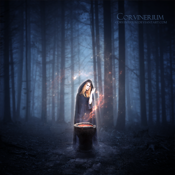 The Witching Hour by Corvinerium