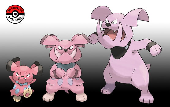 209 - 210 Snubbull Line by InProgressPokemon
