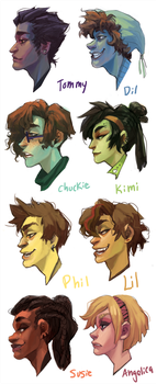 Rugrats in their 20's by Leerer-Raum