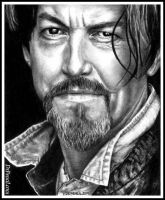 Tommy Flanagan as Chibs on SONS OF ANARCHY by Doctor-Pencil