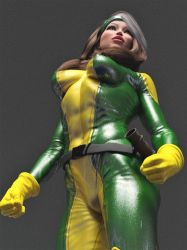 Rogue in the ring 3 by DahriAlGhul