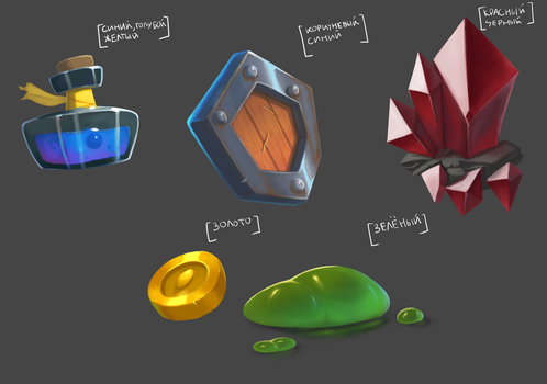 A bunch of random items by MikeTheUser
