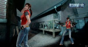 Claire  Redfield _CV_Re Darkside chronicle (xps) by ChrisTalyus