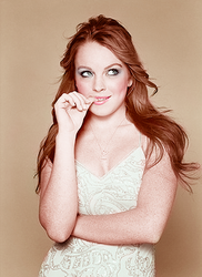 Lindsay Lohan Colourization by elizacunningham