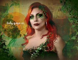 Lady Gaga as Poison Ivy (concept #2) by Panchecco