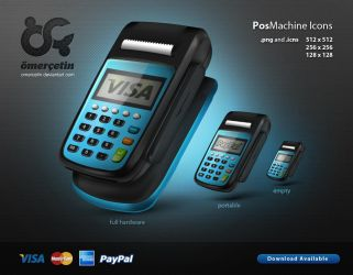 Pos Machine Icons by omercetin