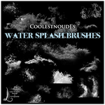 CoolestnoudJ's Splash Brushes by CoolestnoudJ