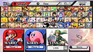 Super Smash Bros For Wii U/3DS Roster Prediction by Lucas-Zero