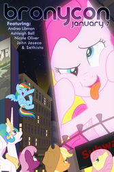 Official Bronycon Poster - January by Timon1771