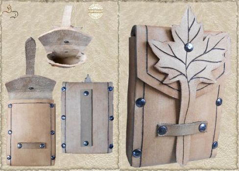 Leather bag 01-0 by Eternal-designs-com