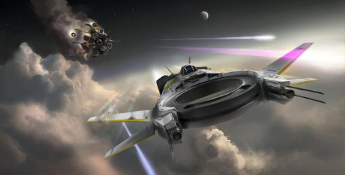 Stratosphere chase by Silberius