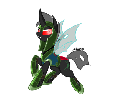 MLP: Reinflak Armored by SrMario