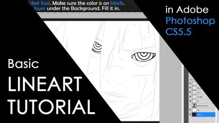 Manga Colorings - Basic Lineart Tutorial by Kortrex