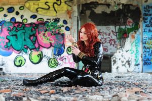 Black Widow just a moment (yamashita version) by Giorgiacosplay