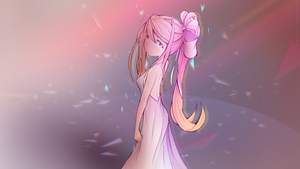 [DDLC, Monika] The Final Waltz by Cyba-Fyba