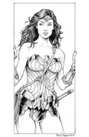 Wonder Woman by staino