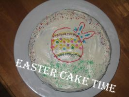 Easter Cake by Hafukyoudai