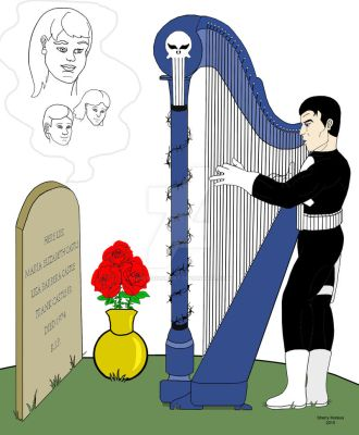 At The Castle Family's Grave Site by OwossoHarpist