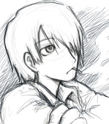 mushishi-sketch by Shin-Wolf