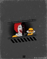 Pennywise? by Fluorescentteddy