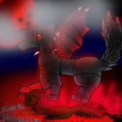 Robotic Wolf  by Da-Drawing-Cat-601