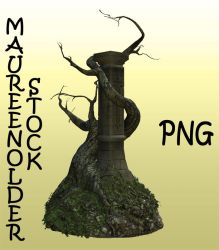STOCK PNG tree column by MaureenOlder