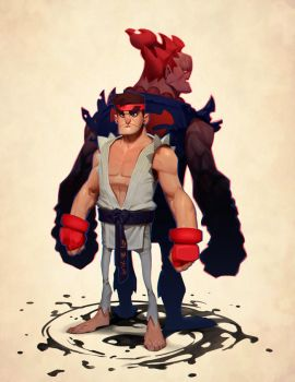 Capcom Fighting Tribute by MaxGrecke