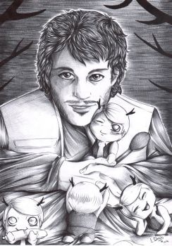 Hannibal - Will and Baltiny by FuriarossaAndMimma