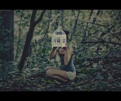 Mind Encaged and Unengaged by JeanFan