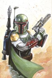 Boba Fett by mayan-art