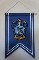 Ravenclaw Banner Flag by Prue126