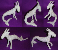 Pipe Cleaner Capricorn by Rayaya