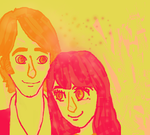 Color Scheme #3 Aria and David by babybee1