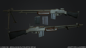 M1918A2 - Browning Automatic Rifle by CougarJo