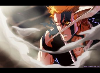 Bleach 675 - Ichigo by i-azu