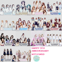 [CMJ_TEAM] : PACK HAPPY 9TH ANNIVERSARY WITH SNSD by CMJTEAM
