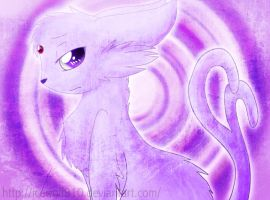 Espeon by AnarchicalMalkin