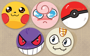 PokePins! by Nuvvola