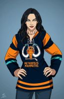 Barda [alternate outfit] (Earth-27) commission by phil-cho