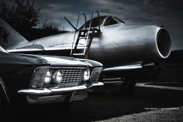 63 Riviera and MIG15 by AmericanMuscle