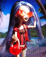 Gloom Beach Ghoulia by Chibi-Warmonger
