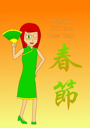 Chinese New Year Cathy by UberPrime