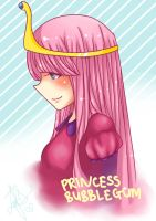 Princess Bubblegum by Winooon