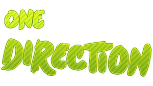 One direction  PNG by Anahir