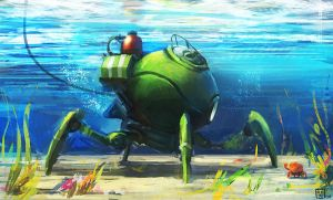 Speed Crabs by Orkimede