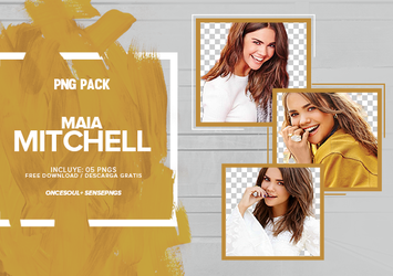 Pack Png 366 -Maia Mitchell by SensePngs