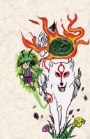 Okami fanart by Tree-Time